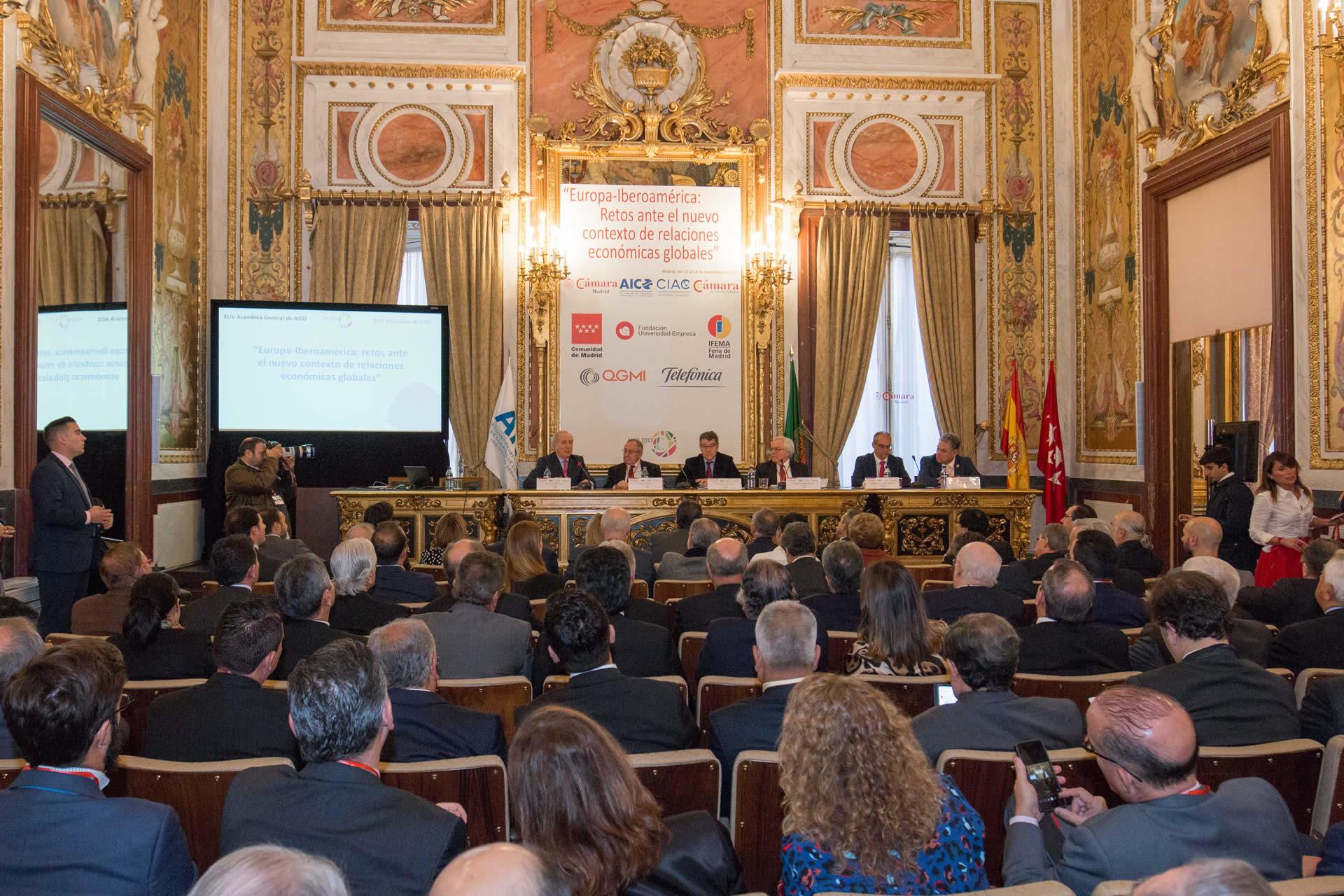 Imagen cumbre Europa-Iberoamérica en el Palacio de Santoña