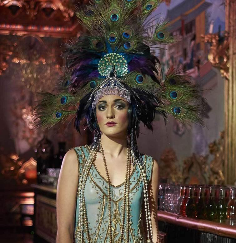 Representación máscara Dior Santoña