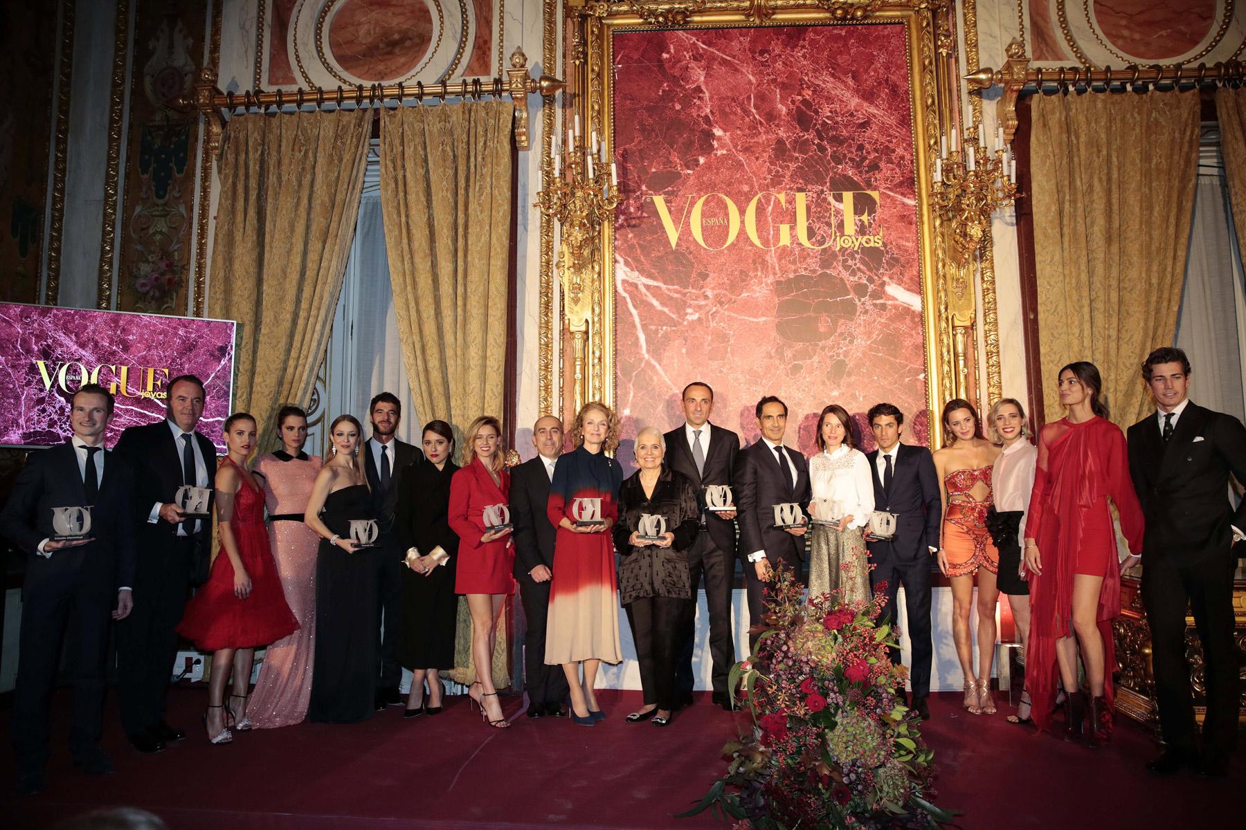 Fotos ganadores Premios Vogue 2017 realizados en el Palacio de Santoña