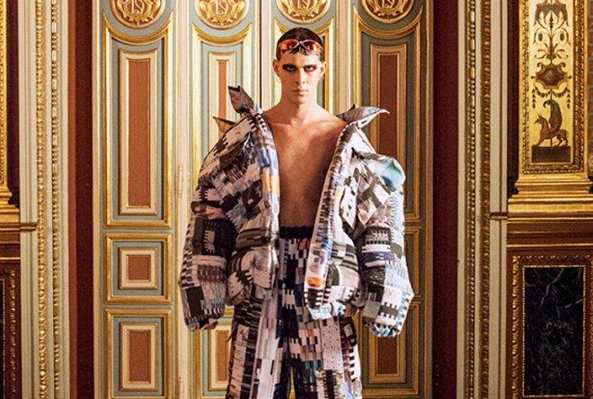 Euphemio Fernández, diseñador de moda - Presentación en Palacio Santoña